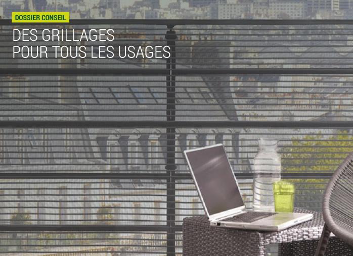 grillage balcon castorama excellent voir accessoire et. Black Bedroom Furniture Sets. Home Design Ideas