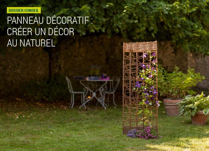 panneau d coratif am nagement naturel nortene. Black Bedroom Furniture Sets. Home Design Ideas