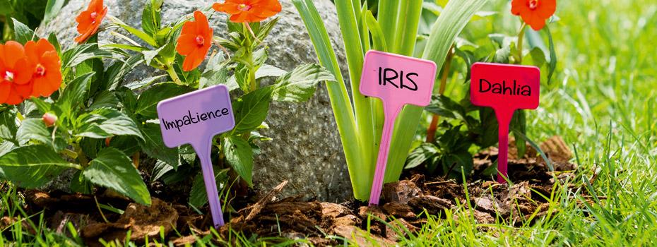 Etiquettes et tuteurs pour le jardin et le potager nortene for Conseil pour le jardin