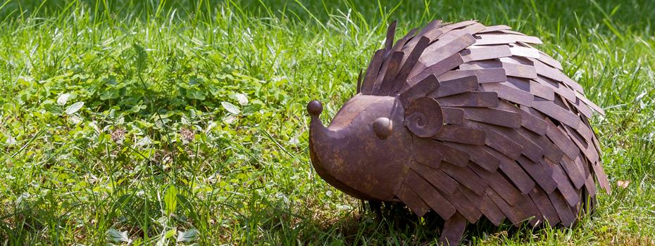 Figurine en fonte ou m tal pour d corer le jardin nortene - Animaux de jardin decoration ...