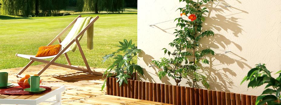Kit de palissage nortene pour plantes grimpantes nortene for Conseil jardinage