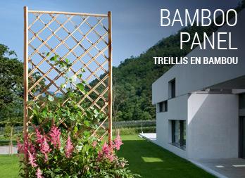 treillis en bambou. Black Bedroom Furniture Sets. Home Design Ideas