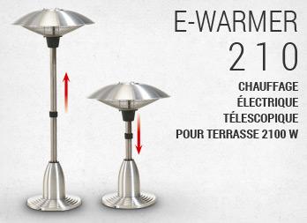 Chauffage lectrique pour terrasse nortene - Chauffage electrique exterieur pour terrasse ...