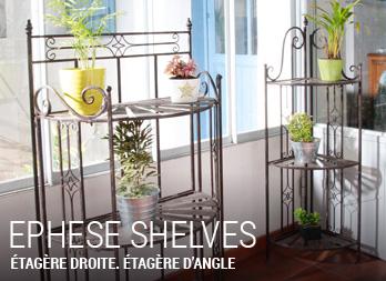 ephese shelves etag re droite etag re d 39 angle nortene. Black Bedroom Furniture Sets. Home Design Ideas