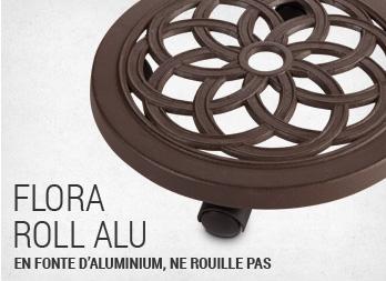 le support roulettes pour plantes en mouvement nortene. Black Bedroom Furniture Sets. Home Design Ideas