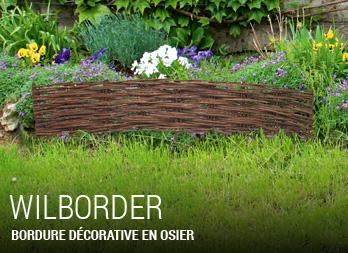 bamboo border bordure flexible en bambou nortene. Black Bedroom Furniture Sets. Home Design Ideas