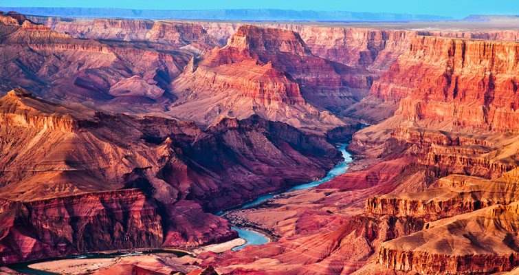 Le Grand Canyon aux Etats-Unis
