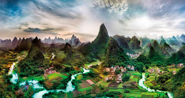 Le parc national de Guilin