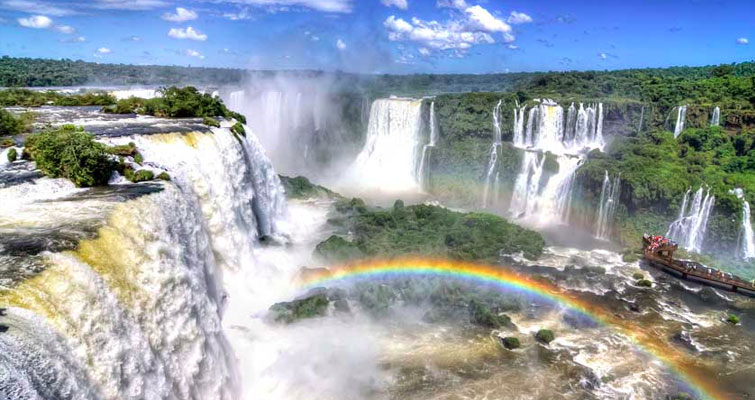 Le parc national d'Iguazu
