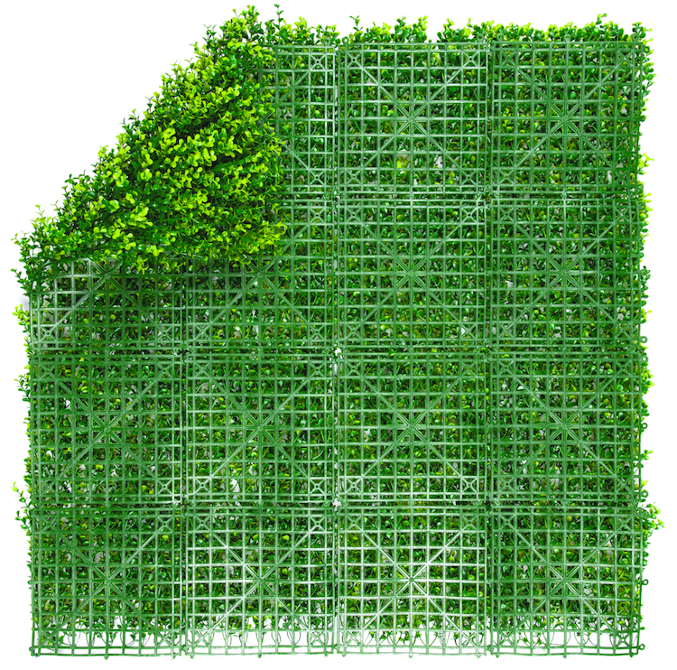 plaque mur vegetal artificiel
