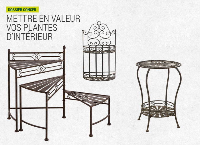 Support en hauteur pour plantes en int rieur nortene for Support de plantes d interieur