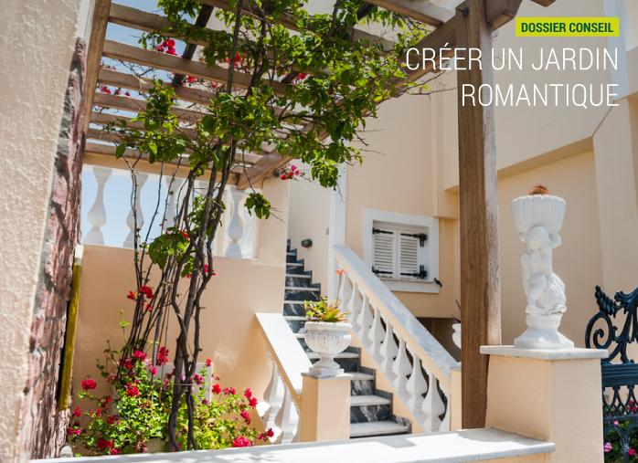 cr er un jardin romantique blog nortene nortene. Black Bedroom Furniture Sets. Home Design Ideas