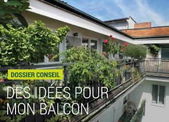 Brise vue d co pour balcons et terrasses de style moderne - Cacher son balcon ...