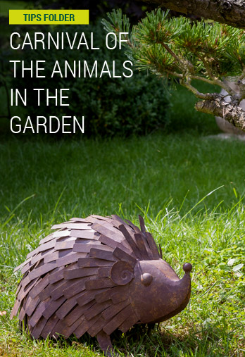 Carnival of the Animals in the garden