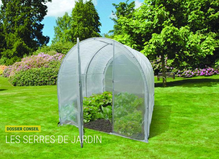 Serre de jardin pour hivernage des plantes - Nortene