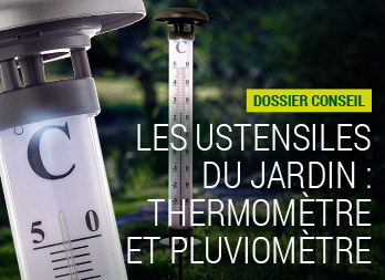 Thermom tre en bois nortene - Grand thermometre de jardin ...
