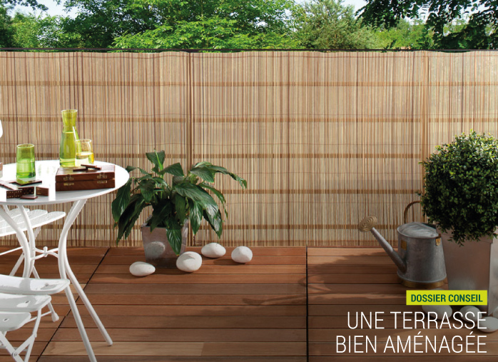 une terrasse bien am nag e dans son jardin nortene. Black Bedroom Furniture Sets. Home Design Ideas