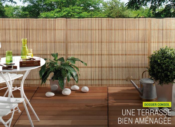 Une terrasse bien aménagée dans son jardin - Nortene