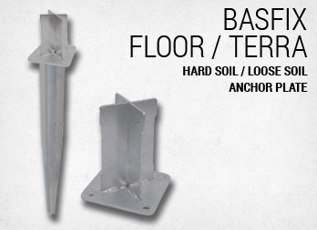 Hard soil / loose soil anchor plate