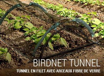Tunnel manchon et filet de protection nortene - Tunnel de protection pour potager ...
