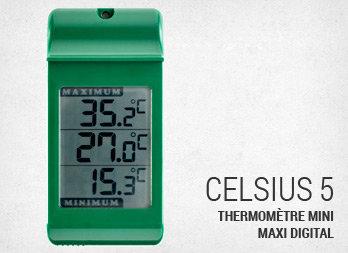 Thermom tre mini maxi hygrom tre nortene - Grand thermometre de jardin ...