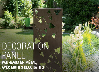 Panneau d coratif am nagement naturel nortene for Decoration pour mur exterieur de jardin