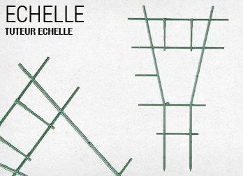 Tuteur chelle de couleur nortene - Echelle decorative pour plantes ...
