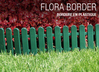 Bordure en plastique - Nortene