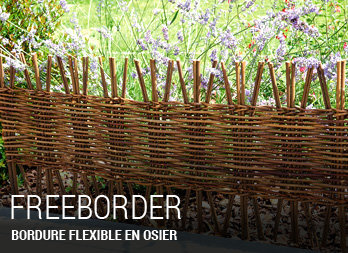 Awesome Bordure De Jardin En Osier Tresse Gallery - Design Trends ...