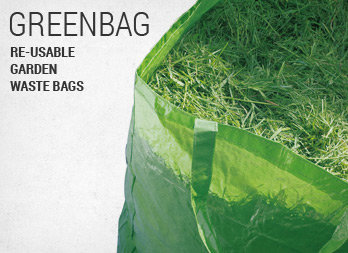 Re-usable garden waste bags