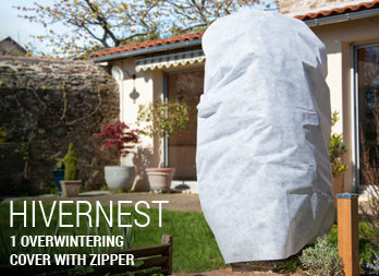 1 overwintering cover with zipper