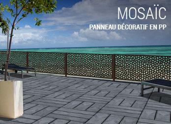 Panneau d coratif en pp nortene for Panneau decoratif pour exterieur
