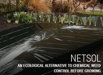 An ecological alternative to chemical weed control before growing