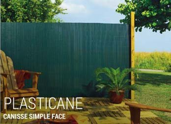 Canisse simple face