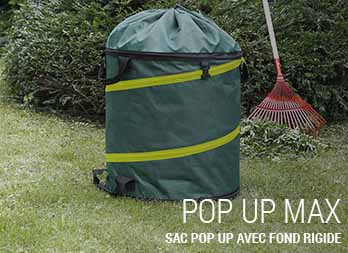 Sac pop up avec fond rigide