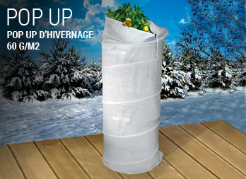 Pop up d'hivernage 60 g/m²