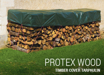 Timber cover tarpaulin