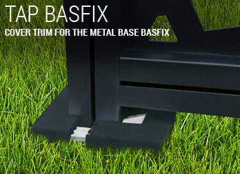 Cover trim for the metal base Basfix