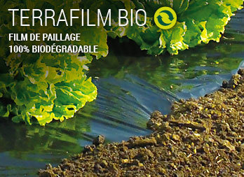 Film de paillage 100% biodégradable