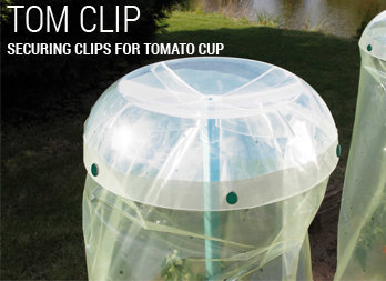 Securing clips for TOMATO CUP