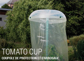 Coupole de protection et d'arrosage