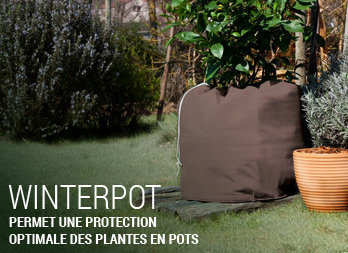 Permet une protection optimale des plantes en pots