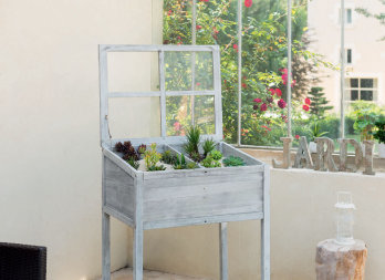 ch ssis sur lev en bois pour balcons et terrasses nortene. Black Bedroom Furniture Sets. Home Design Ideas