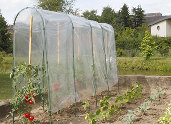 Film de for age tunnel tomates nortene - Tunnel de forcage rigide pour jardin ...