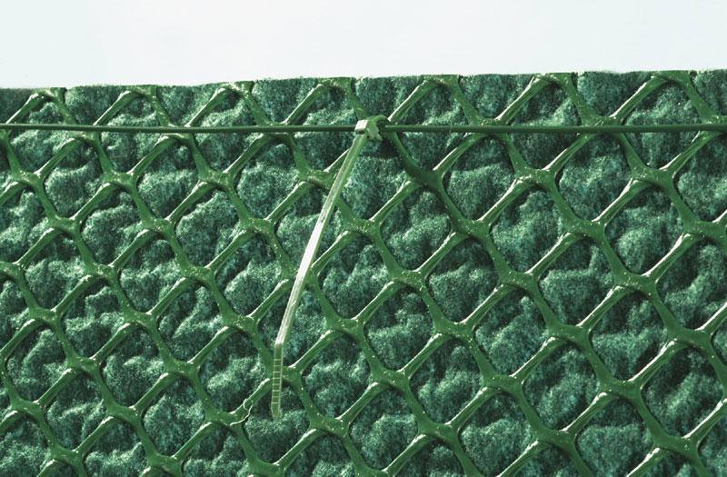 maille plastique en hdpe coupl e un g otextile en pp nortene. Black Bedroom Furniture Sets. Home Design Ideas