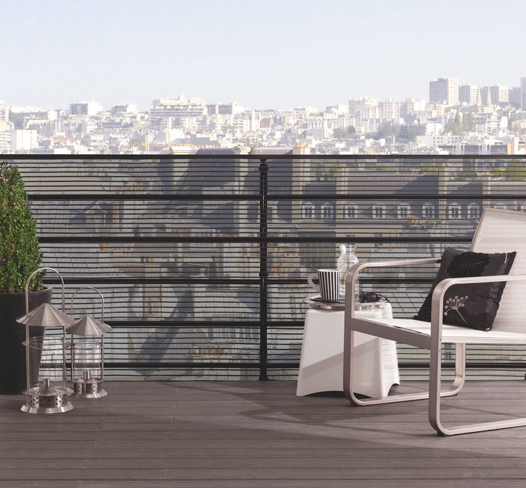 Grillage pour balcon nortene - Grillage balcon castorama ...