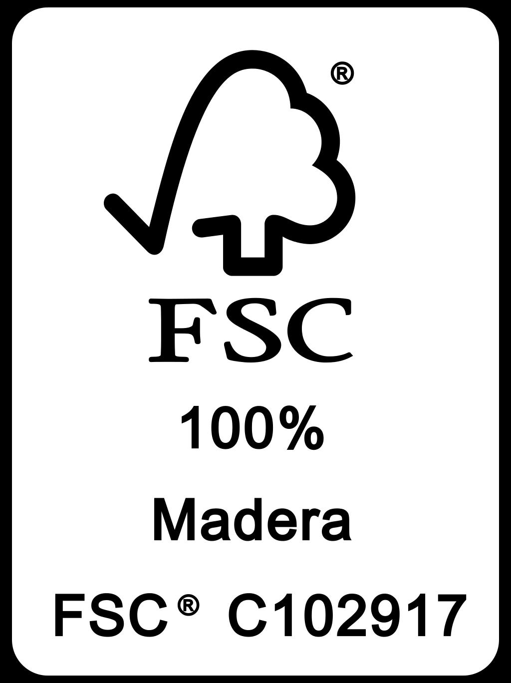 FSC 100% Madera FSC® C102917