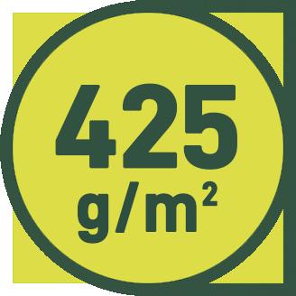 425 g/m2