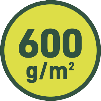 600 g/m2