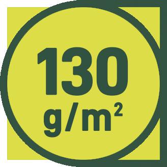 130 g/m2